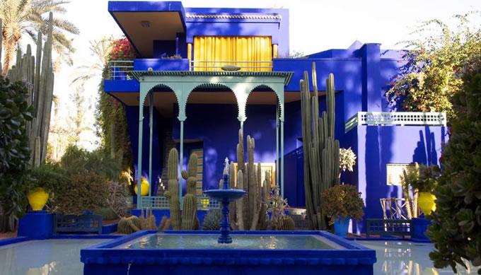 Marrakech ramparts gardens tour marrakech guided visit for Jardin yves saint laurent